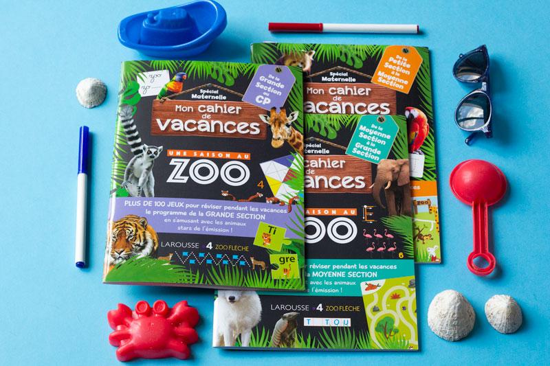 Cahiers De Vacances Une Saison Au Zoo Maternelle